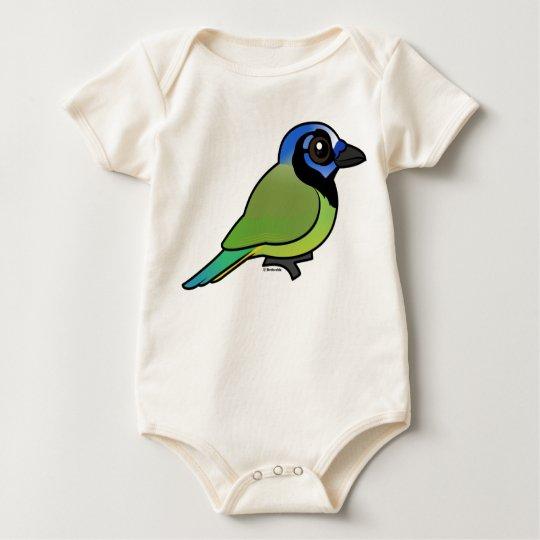 Birdorable Green Jay Baby Bodysuit