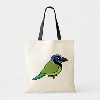 Birdorable Green Jay Tote Bag