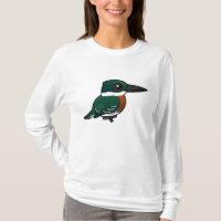 Green Kingfisher Women's Basic Long Sleeve T-Shirt
