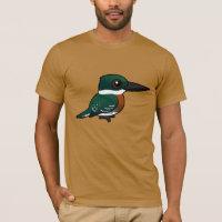 Green Kingfisher Men's Basic American Apparel T-Shirt