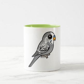 Birdorable Grey Budgie Two-Tone Coffee Mug