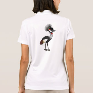 Birdorable Grey Crowned-Crane Polo Shirt