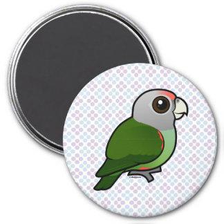 Birdorable Grey-headed Parrot Refrigerator Magnet