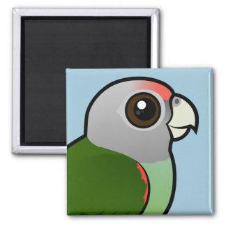 Birdorable Grey-headed Parrot Fridge Magnet