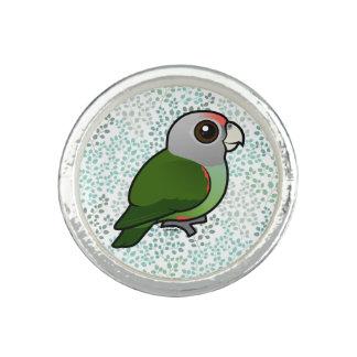 Birdorable Grey-headed Parrot Ring
