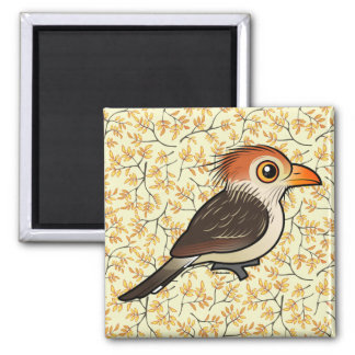 Birdorable Guira Cuckoo 2 Inch Square Magnet