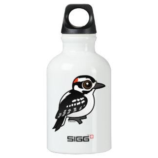 Birdorable Hairy Woodpecker Aluminum Water Bottle