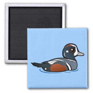 Birdorable Harlequin Duck Magnet