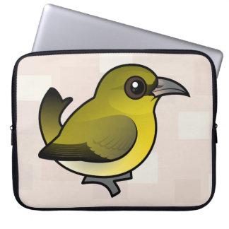 Birdorable Hawai'i 'Amakihi Computer Sleeve