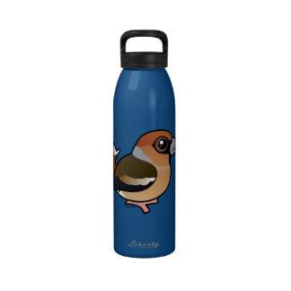 Birdorable Hawfinch Drinking Bottle