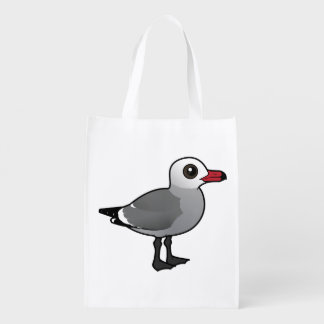 Birdorable Heermann's Gull Grocery Bag