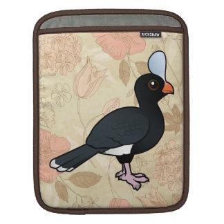 Birdorable Helmeted Curassow Sleeve For iPads