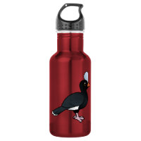 Helmeted Curassow Water Bottle (24 oz)
