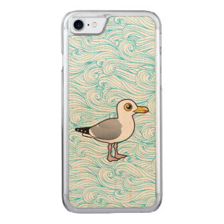Birdorable Herring Gull Carved iPhone 7 Case