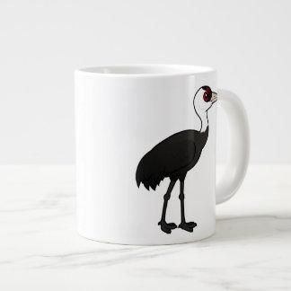 Birdorable Hooded Crane Large Coffee Mug