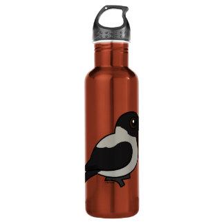 Birdorable Hooded Crow Water Bottle