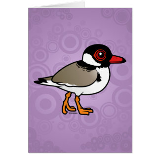 Birdorable Hooded Plover Card