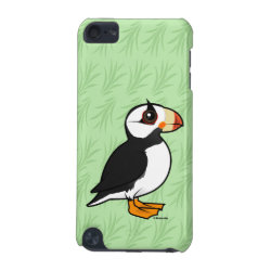 Gifts & Apparel with Birdorable Cartoon Horned Puffin