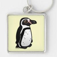 Humboldt Penguin Premium Square Keychain
