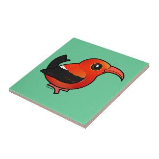Birdorable 'I'iwi Tiles