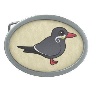 Birdorable Inca Tern Oval Belt Buckle