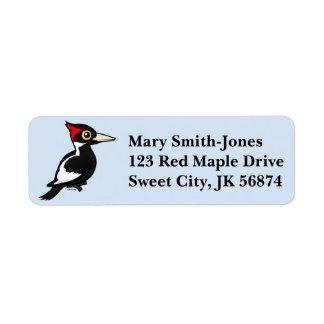 Birdorable Ivory-billed Woodpecker Label
