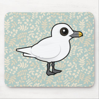 Birdorable Ivory Gull Mouse Pads