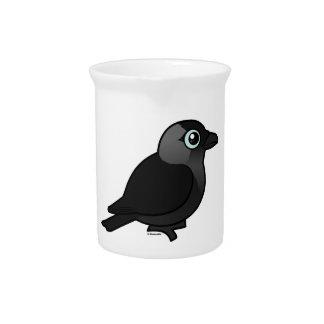 Birdorable Jackdaw Drink Pitcher