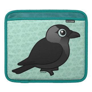 Birdorable Jackdaw iPad Sleeve