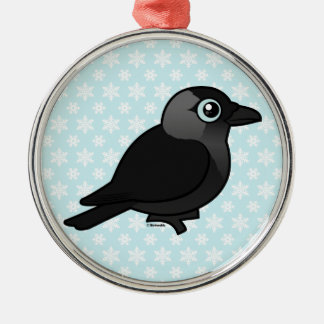 Birdorable Jackdaw Christmas Ornaments
