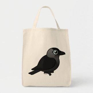Birdorable Jackdaw Tote Bag