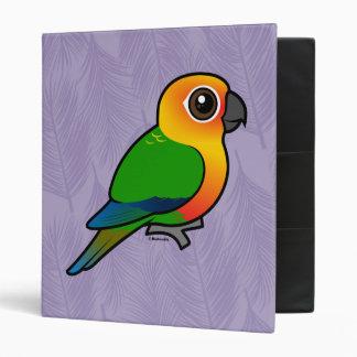 Birdorable Jandaya Parakeet 3 Ring Binders