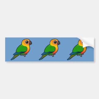 Birdorable Jandaya Parakeet Bumper Sticker