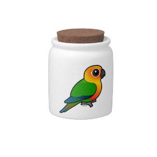 Birdorable Jandaya Parakeet Candy Dish