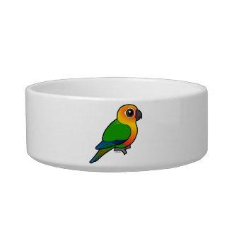 Birdorable Jandaya Parakeet Cat Bowls