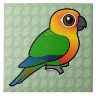 Birdorable Jandaya Parakeet Ceramic Tile