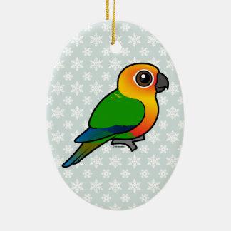 Birdorable Jandaya Parakeet Christmas Ornaments