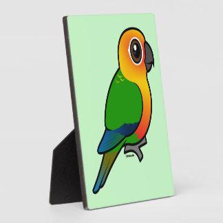 Birdorable Jandaya Parakeet Display Plaques
