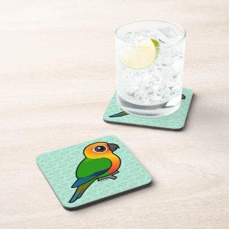 Birdorable Jandaya Parakeet Drink Coasters