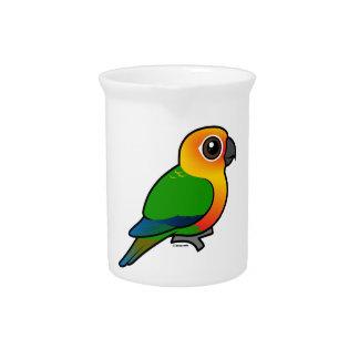 Birdorable Jandaya Parakeet Drink Pitchers