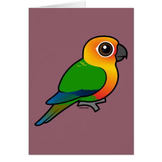Birdorable Jandaya Parakeet Greeting Cards