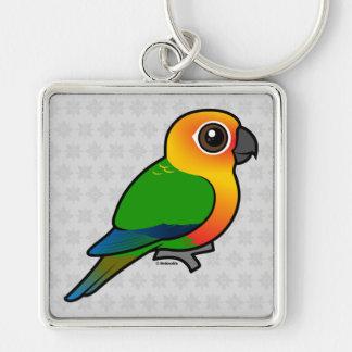 Birdorable Jandaya Parakeet Keychain