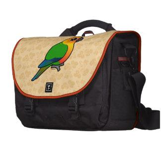 Birdorable Jandaya Parakeet Laptop Bag