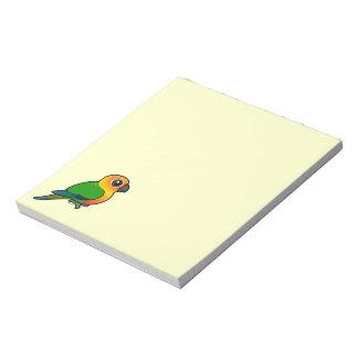 Birdorable Jandaya Parakeet Memo Note Pad