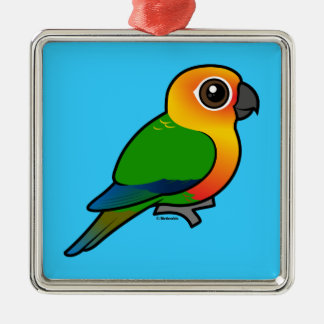 Birdorable Jandaya Parakeet Christmas Tree Ornaments