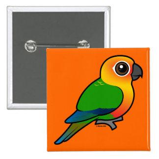 Birdorable Jandaya Parakeet Pin