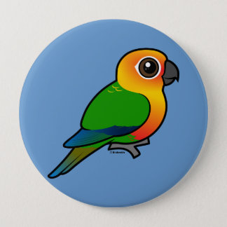 Birdorable Jandaya Parakeet Pinback Button