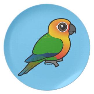 Birdorable Jandaya Parakeet Plate