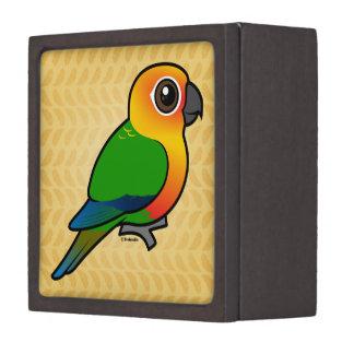 Birdorable Jandaya Parakeet Premium Keepsake Box