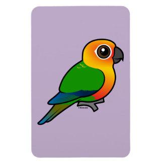 Birdorable Jandaya Parakeet Rectangle Magnets